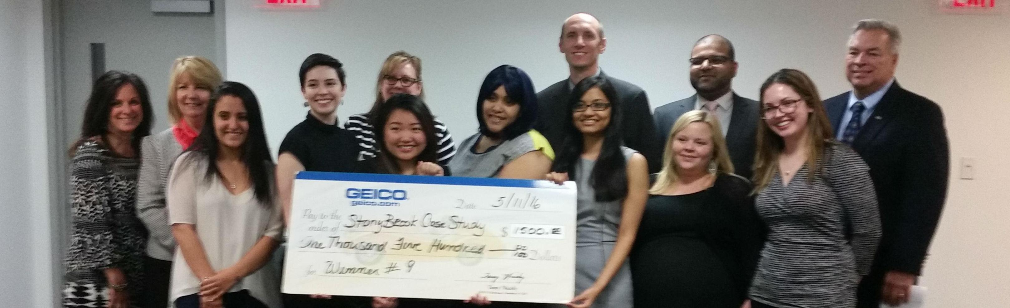 College of Business Students Gain Experience & Scholarships With GEICO