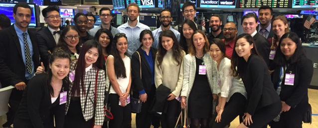 COB Students and Professor Margot Palermo Visit NYSA