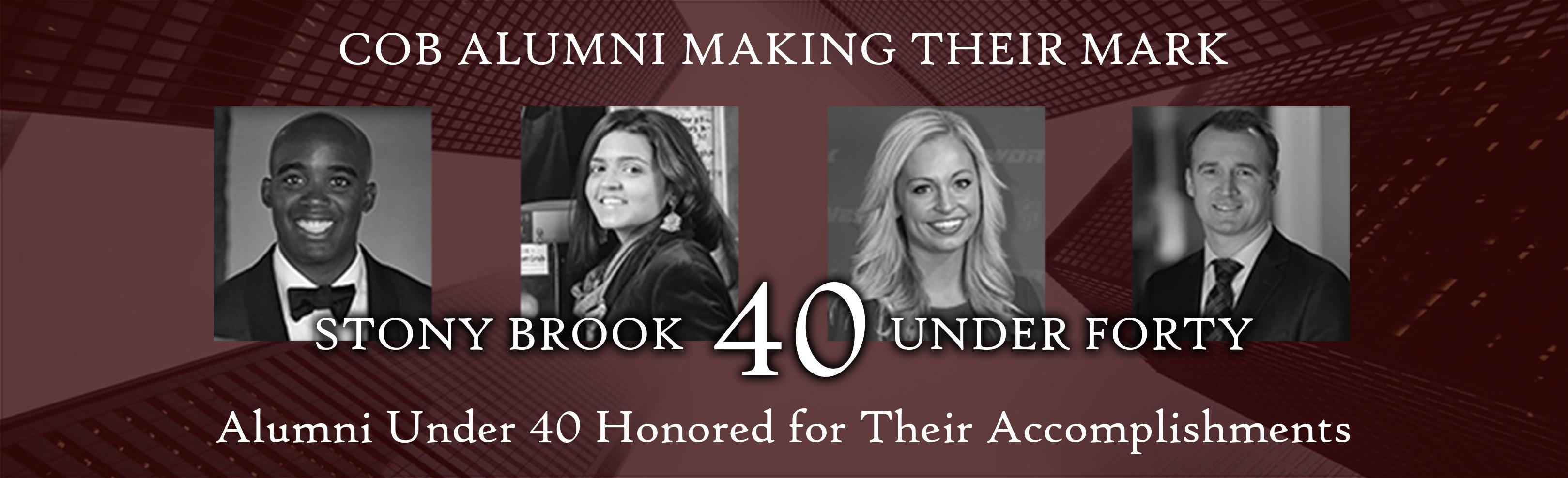Stony Brook College of Business 40 Under Forty
