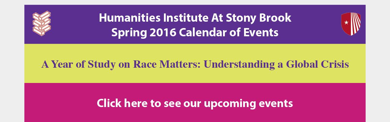 2016 Spring Calendar
