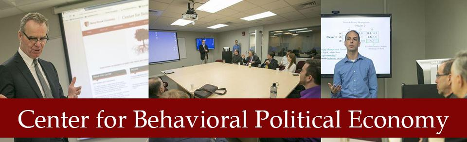 Center for Behavioral Political Economy