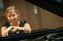 Stony Brook, NY; Stony Brook University:  English major Bella Gurevich played piano at Carnegie Hall