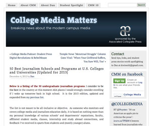 College Media Matters